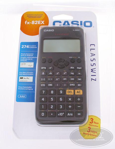 Kalkulatory Casio Naukowe FX-82EX CLASSWIZ