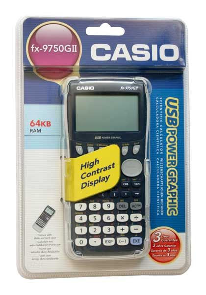 Kalkulatory Casio Graficzne Do szkoły Na studia FX-9750GII