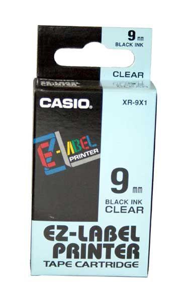 Kalkulatory Taśmy do drukarek etykiet Casio Drukarki etykiet Akcesoria Do biura i domu Do centrum logistycznego/magazynu XR 9X1