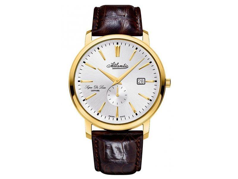 Zegarki Atlantic Timetrend Atlantic Dla mężczyzny Super de luxe powyżej 1000 zł powyżej 1000 zł Eleganckie Atlantic Super De Luxe 64352.45.21