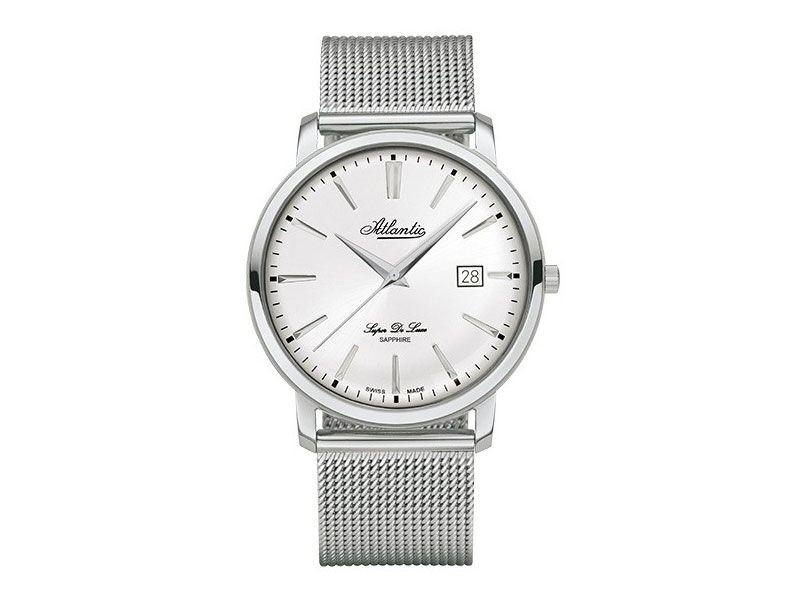 Zegarki Atlantic Timetrend Atlantic Dla mężczyzny Super de luxe Eleganckie powyżej 1000 zł powyżej 1000 zł Atlantic Super De Luxe 64356.41.21