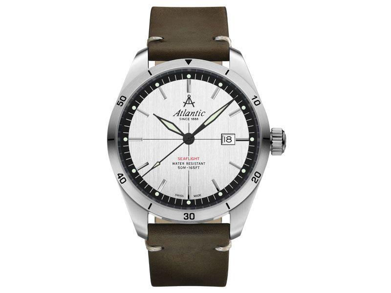 Zegarki Atlantic Timetrend Atlantic Dla mężczyzny Seaflight powyżej 1000 zł powyżej 1000 zł Eleganckie Eleganckie Atlantic Seaflight 70351.41.21