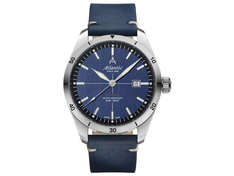 Zegarki Atlantic Timetrend Atlantic Dla mężczyzny Seaflight powyżej 1000 zł powyżej 1000 zł Eleganckie Eleganckie Atlantic Seaflight 70351.41.51