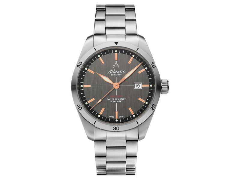 Zegarki Atlantic Timetrend Atlantic Dla mężczyzny Seaflight powyżej 1000 zł powyżej 1000 zł Eleganckie Atlantic Seaflight 70356.41.41R